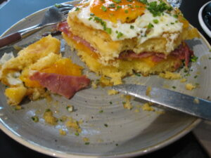 Bacon & Egg Pancakes
