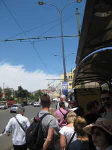 Queueing Up for Tram 28