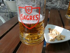 Beer and peanuts - 3Euros